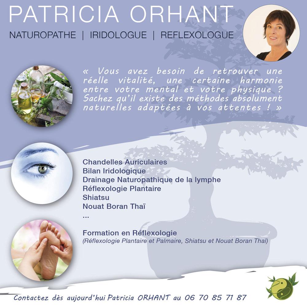 Naturopathe Iridologue Guérande La Baule - Patricia Orhant